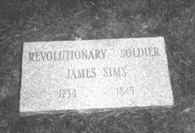 James SIMS (1754-1845) Pioneer of Nicholas County, West Virginia (2/2)