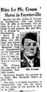 1949 James C. Crouse obit