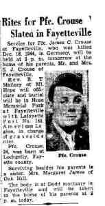 1949 James C. Crouse obit