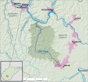 Loop_Creek_WV_map