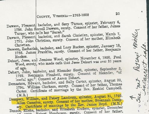 1799marriageerror