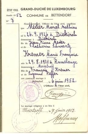 MRIN04646 1952-06-02 Marcel Meder and Maisy Kremer family book 2