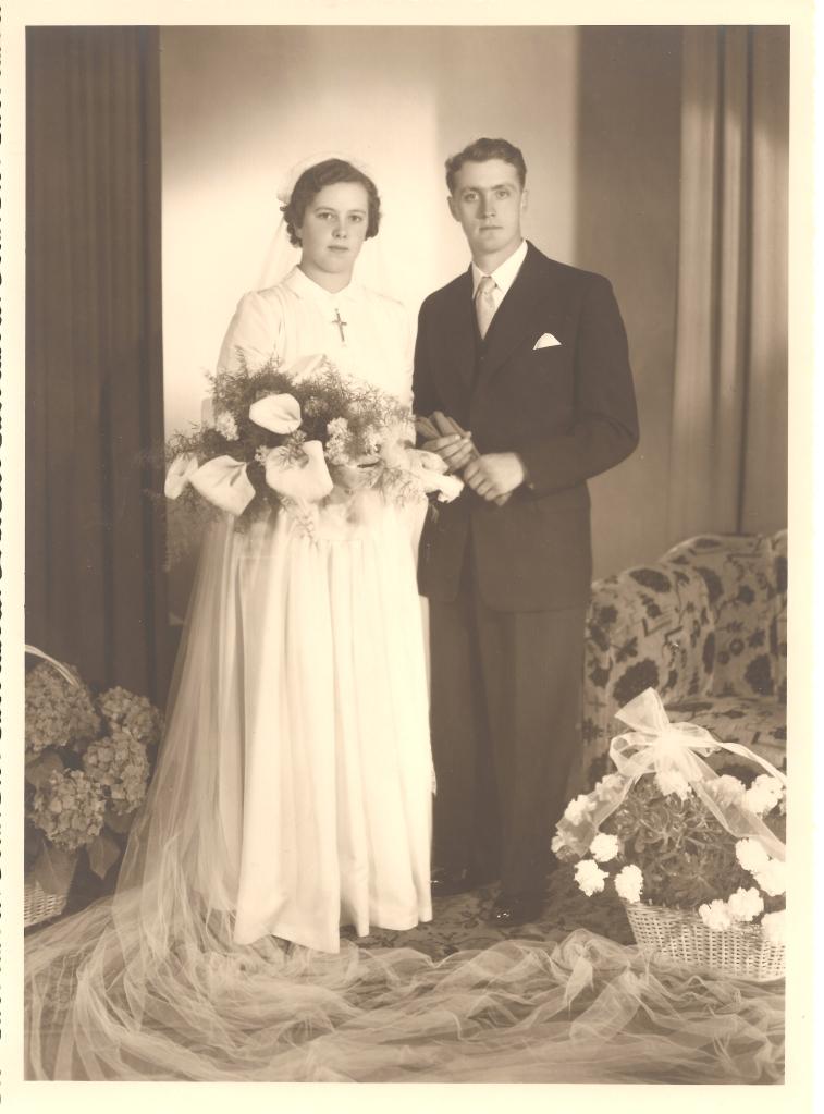 MRIN04646 1952-06-02 Marcel Meder and Maisy Kremer wedding