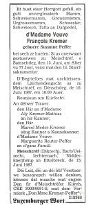 MRIN04944 1987-06-15 Suzanne Peffer obit