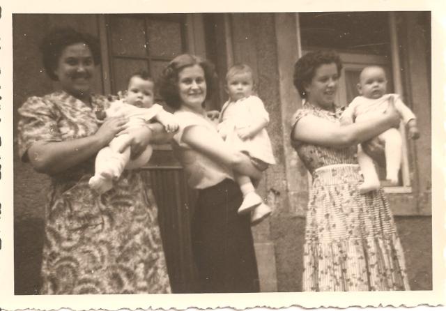 granddaughters and great-grandchildren