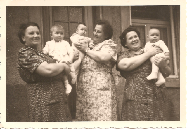 grandmothers with babies