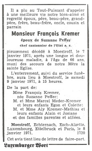 MRIN04944 1971-01-08 François Kremer obit