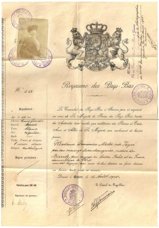 1915Dominicapass
