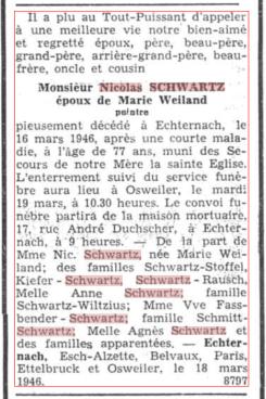 MRIN36754 1946 Nicolas Schwartz avis mortuaire