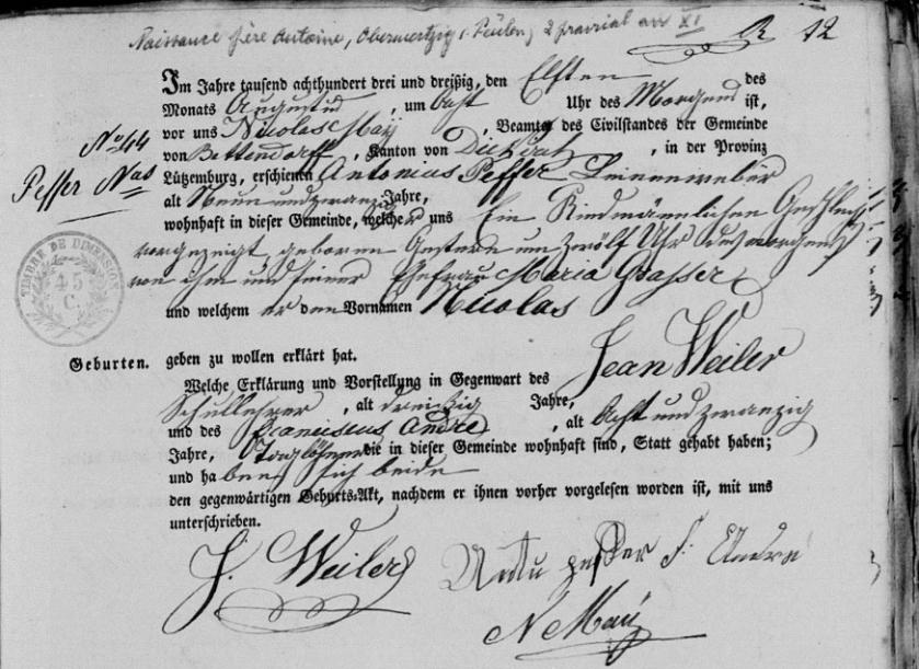 1833birth
