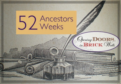 52 Ancestors: #6 Walter Farmer ROOP1883-1971