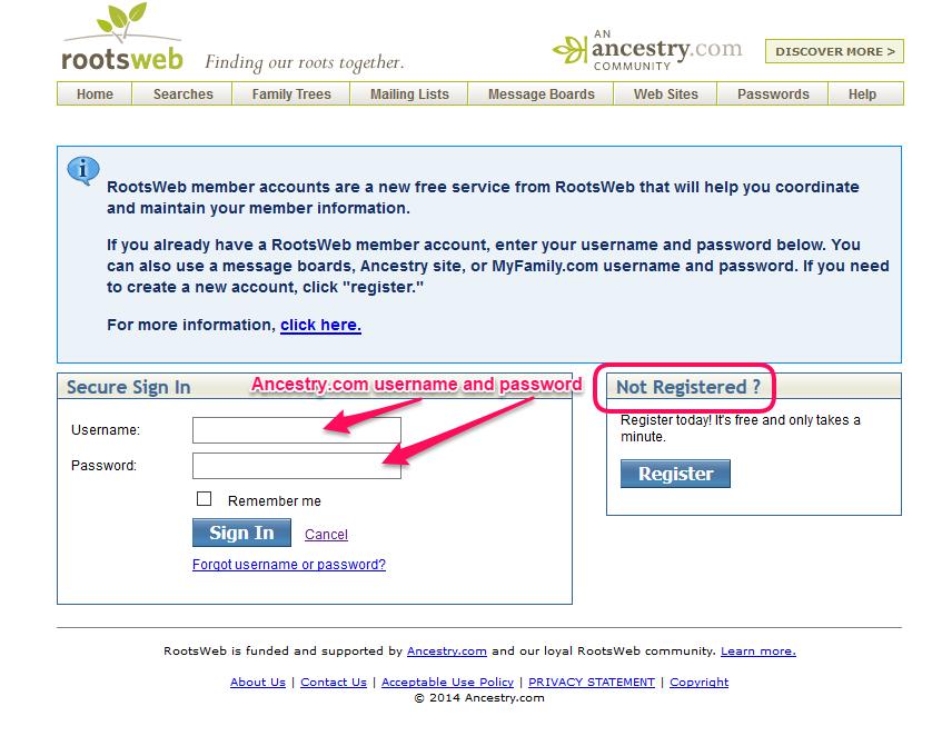 myrelatives com address lookup