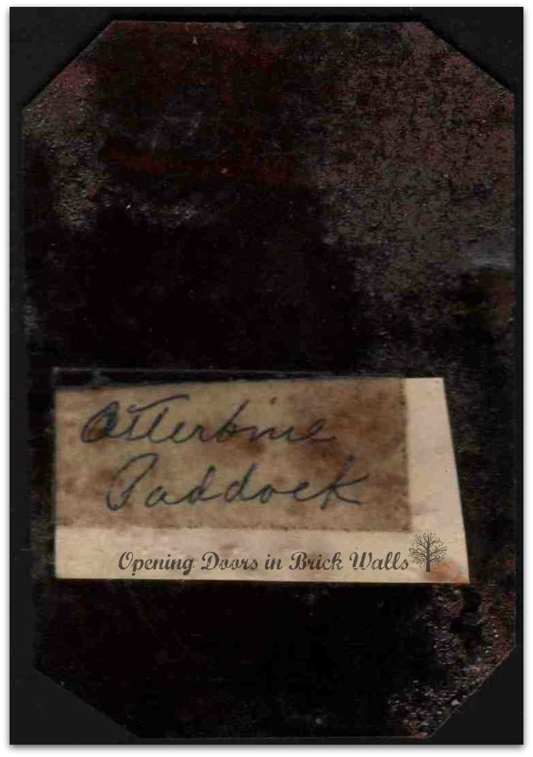 Otterbein Paddock ca. 1878 back