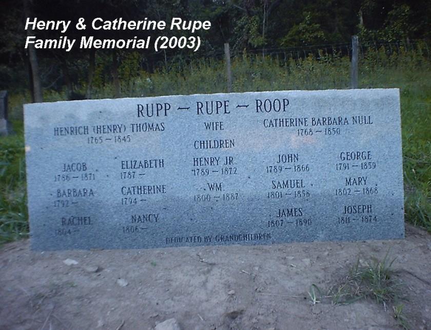 MRIN00553 Henry_Catherine_Null__Rupe_Family_Memorial1