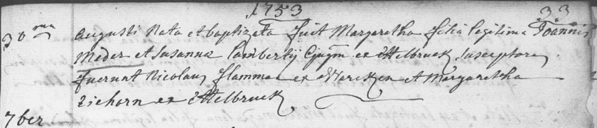 1753margarethamederbaptism