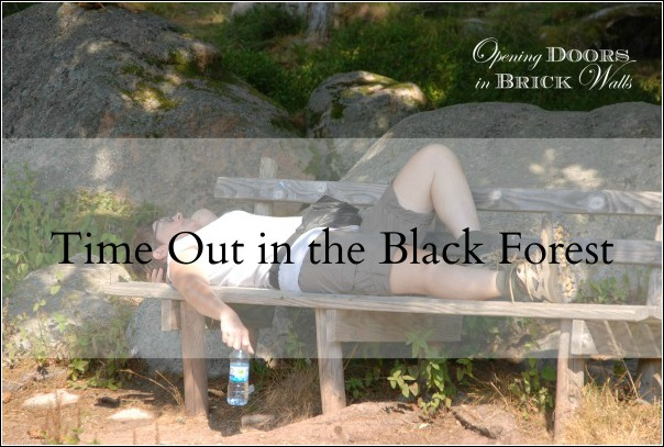 Time Out in the BlackForest