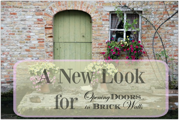 A New Look for Opening Doors in Brick Walls