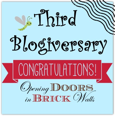 Third Blogiversary!