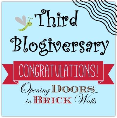 Third Blogiversary!