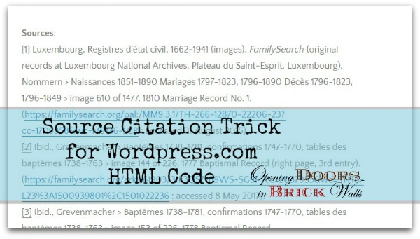 Source Citation Trick for WordPress.com – HTML Code