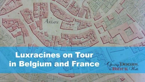 Luxracines on Tour in Belgium and France