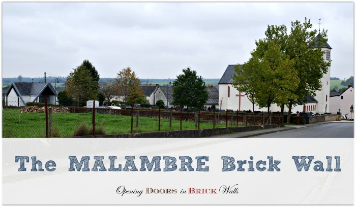 52 Ancestors: #34 The Malambré BrickWall