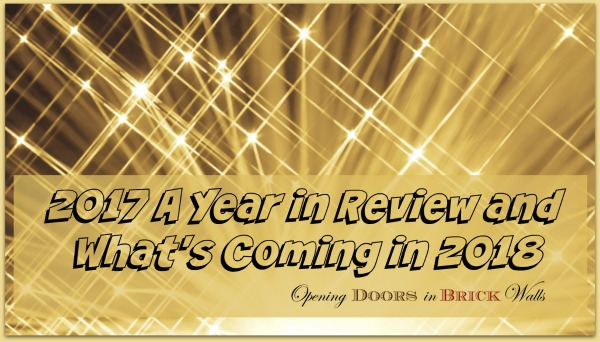 2017 A Year in Review and What's Coming in 2018