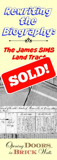 WOW!! James SIMS Land Tract SOLD!!