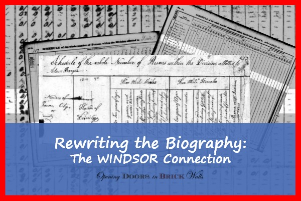 Rewriting the Biography: The Windsor Connection
