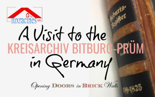 A Visit to the Kreisarchiv Bitburg-Prüm in Bitburg, Germany
