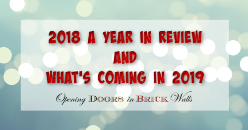 2018 A Year in Review and What's Coming in2019