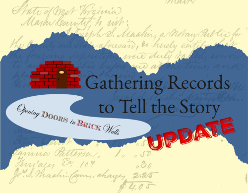 Gathering Records to Tell the Story – An Update