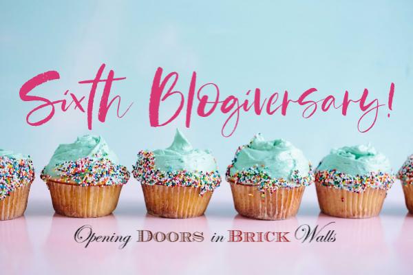 Sixth Blogiversary!