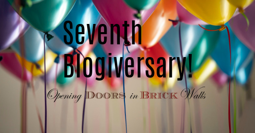 Seventh Blogiversary!