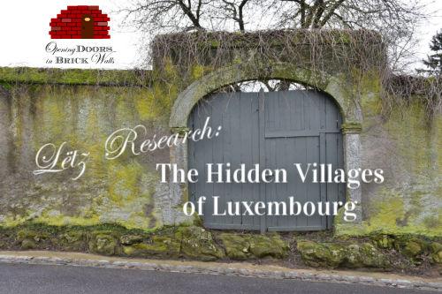 Lëtz Research: The Hidden Villages ofLuxembourg
